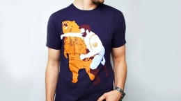 Man vs. Bear: Got the T-Shirt?