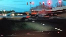 Dashcam Video Shows Truck Slamming Into PGCPS School Bus
