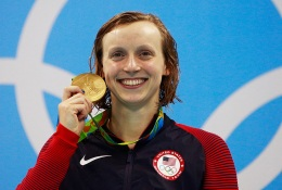 Katie Ledecky to Throw First Pitch at Nationals Game