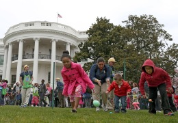 Thousands Attend White House Easter Egg Roll