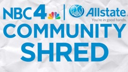 NBC4 Allstate Community Shred Dec. 3