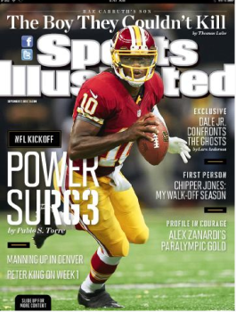 "RGIII On Cover Of ""SI"""