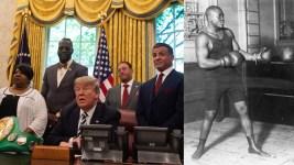 'About Time': Trump Pardons Late, Great Boxer Jack Johnson