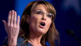 Sarah Palin Lobs Softballs at Donald Trump, Ted Cruz, Jeb Bush