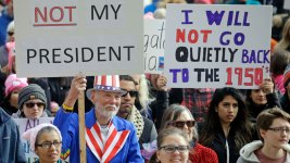'Not My Presidents Day' Rallies Draw Crowds Across US