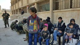 Syria Marks 7 Years of War; Hundreds Leave Besieged Enclave