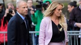 Stormy Daniels Says She's Reserving Judgment on Avenatti Arrest