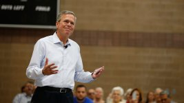 Jeb Bush Takes Donald Trump's Immigration Remarks Personally