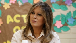 Melania Trump Visits Border Amid Family Separation Crisis