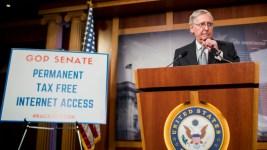 Congress Approves Permanent Internet Tax Ban