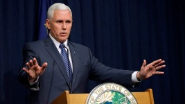 WATCH: Indiana Gov. Addresses Law Controversy