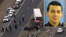 Cop in Deadly Wrong-Way Crash Had BAC 3 Times Legal Limit: Sources
