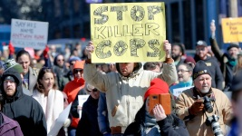 Protests Erupt After Cop Cleared in Black Teen's Shooting