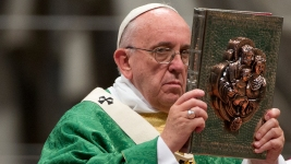 Pope: Marriage Is an 'Indissoluble Bond'