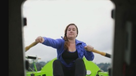 Woman Aims to Become First to Cross Pacific in Rowboat