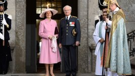 Swedes Celebrate King's 70th Birthday
