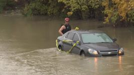 Crews Respond to Dozens of Water Rescues in Texas Over Weekend