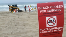 SoCal Beaches Closed After Oily Globs Wash Ashore