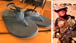 Dallas Shoe Maker Reinvents, Provides Flip Flops for Prosthetic Wearing Veterans