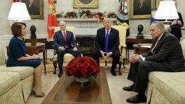 Fact Check: A Look at the Trump-Pelosi-Schumer Scuffle