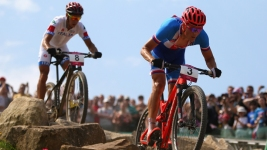 Czech Republic's Kulhavy Wins Mountain Biking Gold, Switzerland Silver, Italy Bronze