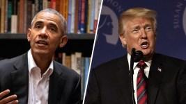 Obama, Trump Presidencies Contrasted in Photo Book 'Shade'
