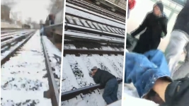 Frantic NYC Subway Track Rescue Caught on Camera