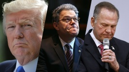 As Sex Scandals Topple the Powerful: Why Not Trump?