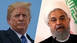Trump Fires Explosive Threat to Iran's Leader, Iran Shrugs
