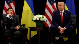 Conflicting White House Accounts of 1st Trump-Zelenskiy Call