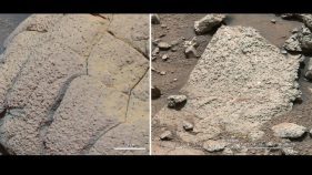 "Mars Rock Reveals Conditions ""Were Favorable for Life"""