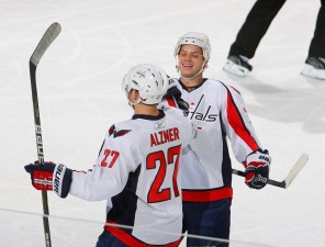 Caps Roommates: Alzner and Carlson
