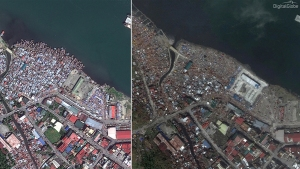 Typhoon Haiyan's Impact: Before-And-After Images