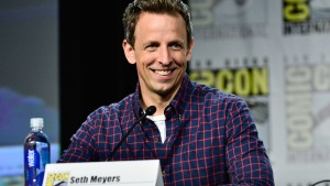Meyers Talks Outrageous Costumes at Comic-Con