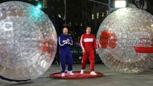 Fallon: Hamster Ball Race With Statham