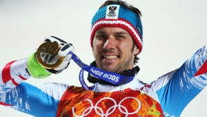 Matt Wins Men's Olympic Slalom