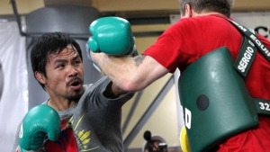 Pacquiao Dedicates Next Fight to Typhoon Victims