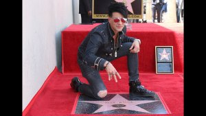 Illusionist Criss Angel Receives Star on Hollywood Walk of Fame