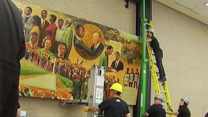 56-Foot-Long MLK Mural Dismantled at DC Library