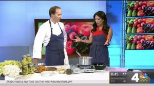 A Local Chef Demonstrates a Fall Recipe