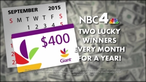 Giant Gift Card Sweepstakes!