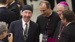 U2's The Edge Rocks the Sistine Chapel