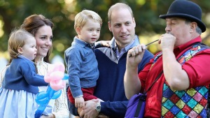 British Royal Kids Attend Children's Party in Canada