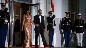 Obama Uses Final State Dinner to Honor Italy and Its Leader