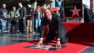 Dwayne 'The Rock' Johnson Gets Star on Walk of Fame