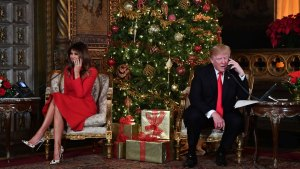 Trump Sends Christmas Greetings to Children, Troops Abroad