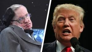 Stephen Hawking Baffled by Donald Trump's Popularity