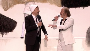 'Tonight': Jimmy Fallon and Katerine Sing 'Moustache'