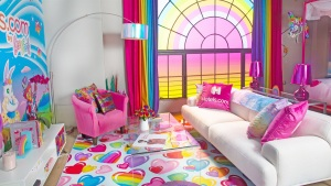 This Lisa Frank Hotel Will Transport You Back to the 90s