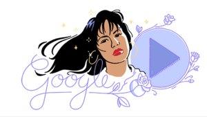 Google Honors Selena With Doodle, New Special Exhibit